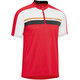 Gonso Borax - Maillot manches courtes Homme - rouge/blanc